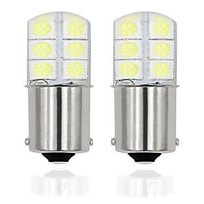 ieftine Car Signal Lights-2pcs / lot 1156 p21w led ba15s led 5050 12smd auto becuri lampă pentru semnalizare de rotație lumină de frână nu există eroare 12v