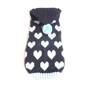ieftine Imbracaminte & Accesorii Căței-Câini Pulovere Iarnă Îmbrăcăminte Câini Albastru Roz Costume Corgi Beagle Shiba Inu Fibră Acrilică Iubire Casul / Zilnic Încălziri XS S M L XL XXL