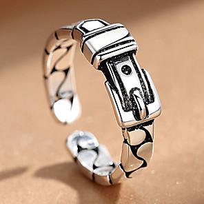 ieftine Inele-Bărbați Pentru femei manşetă Ring 1 buc Negru Aliaj Stilul Folk Steampunk Cadou Zilnic Bijuterii