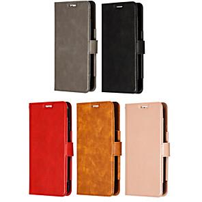 povoljno Huawei slučaj tableta-Θήκη Za Huawei MediaPad Huawei Nova 3i / Huawei Nova 4 / Huawei P20 Utor za kartice / Zaokret / S magnetom Korice Jednobojni PU koža / TPU