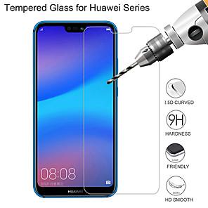 povoljno Maske/futrole za Huawei-HuaweiScreen ProtectorHuawei P20 Visoka rezolucija (HD) Prednja zaštitna folija 2 kom Kaljeno staklo
