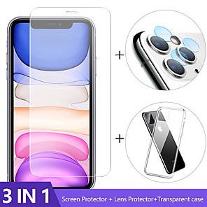 ieftine Cercei-Geam pentru cameră 3 în 1 pentru iphone 11 pro max protector de ecran iphone 11 lentilă de sticlă pe iphone 11 pro max protecție