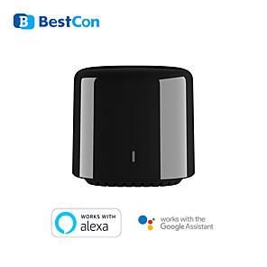 povoljno Sigurnosni senzori-novi širokopojasni bestcon rm4c mini wi-fi pametni univerzalni daljinski upravljač ir& rf univerzalni daljinski radi s vanjskim senzorom google home alexa smart home hub