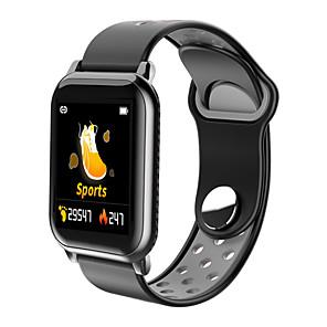 povoljno Ženski satovi-Smart Satovi Šiljci za meso Moderna Sportski Silikon 30 m Vodootpornost Heart Rate Monitor Bluetooth Šiljci za meso Ležerne prilike Outdoor - Gold / Bijela Crna / siva Black / Green