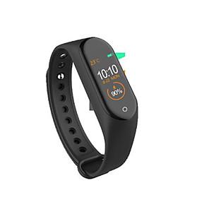 ieftine Aurii cu fir cu fir-M4 smart wristband bluetooth fitness tracker support notificare / măsurarea tensiunii arteriale ceas inteligent impermeabil pentru telefoane samsung / iphone / android