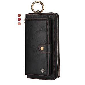 Недорогие Кейсы для iPhone-кожаный чехол для iphone 11 pro max xr xs max 8 плюс 7 плюс 6 плюс универсальный кошелек марки pola из натуральной кожи противоударный однотонный чехол
