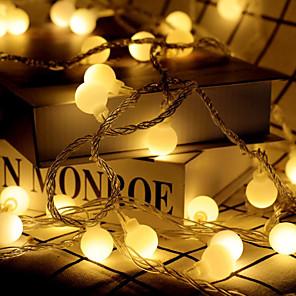 ieftine Ustensile & Gadget-uri de Copt-lumini led lumină intermitentă lumini neon lumini mici șir festival festival Crăciun nunta lumini decorațiuni sfoară baterii peste tot cerul