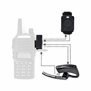 ieftine Walkie Talkies-Setul cu cască bluetooth walkie talkie pentru baofeng hytera tyt 365 wanhua wouxun