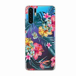 hesapli Huawei İçin Kılıflar / Kapaklar-Huawei p30 için kılıf / huawei p30 pro / huawei p30 lite şeffaf / desen arka kapak tropikal planı şeref için 9x / onur 10 lite / y7 2019 / mate 20 lite / arkadaşı 20 pro / nova 5i