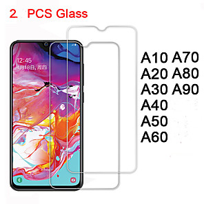 halpa Galaxy S -sarjan kotelot / kuoret-karkaistu lasi samsung a70 a60 a50 a40 a30 a20 a10 suojalasilasi näytönsuojat turvallisuus galaksissa a80 a90