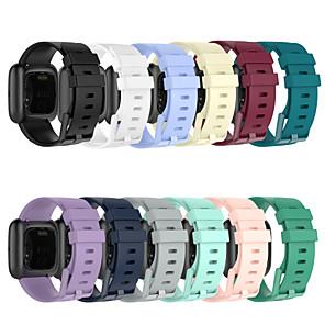 Недорогие Ремешки для спортивных часов-ремешок для часов для fitbit наоборот / fitbi наоборот lite / fitbit наоборот 2 fitbit спортивный ремешок силиконовый ремешок