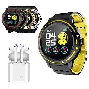 ieftine Gadget Baie-indear v5 barbati femei bratara inteligenta smartwatch android ios tws wireless casca bluetooth