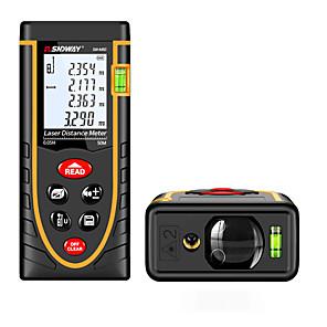 ieftine Instrument De Măsurare Nivel-Sndway sw-m40 digital de mână cu distanța de măsurare a distanței la distanță de 40m 635nm& Unghi de măsurare (1.5v aaa baterii)