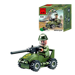 cheap Stacking Blocks-Building Blocks 13 pcs People Military compatible Legoing Non Toxic Toy Gift