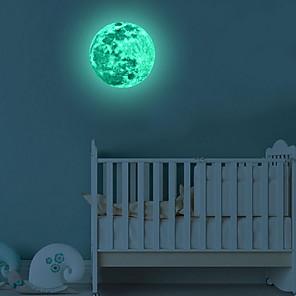 baratos Decoração de parede-Autocolantes de Parede Decorativos - Autocolantes de Parede Luminosos Paisagem Interior