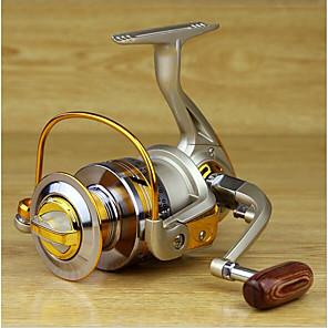 ieftine Role Pescuit-Pescuit Având Reel Role de filare 5.2:1 Raport Transmisie+10 Rulmenti mână Orientare schimbabil Pescuit mare / Pescuit de Apă Dulce / Momeală pescuit - MK4000 / Pescuit în General