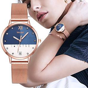 povoljno Muški satovi-BOSCK Žene Kvarc Kvarc Rose Gold Kalendar Kronograf New Design Analog Novi Dolazak Moda - Crn Bijela Red