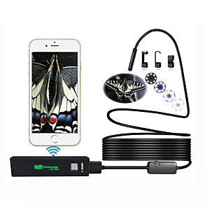 povoljno Sigurnosni senzori-antscope 1200p wifi endoskop kamera za iphone android borescope vodootporna kamera endoskopska 8 mm meka žica 10m cijev ios 40