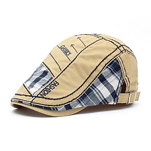 Medium to Ex-Large  Only £6.99 Light Brown Quilted mens flat cap