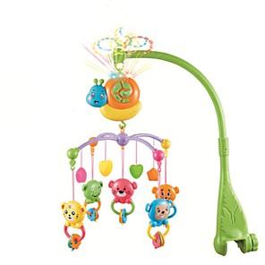 ieftine Jucarii pentru copii-Pat pentru copii babyguard clopot muzică roti pat inel jucarii pentru copii jucarii educative pentru copii