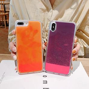 povoljno iPhone maske-Θήκη Za Apple iPhone 11 / iPhone 11 Pro / iPhone 11 Pro Max S tekućinom Stražnja maska Šljokice TPU / PC