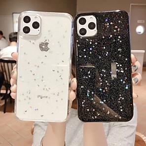 cheap Apple-Case For Apple iPhone 11 / iPhone 11 Pro / iPhone 11 Pro Max Glitter Shine Back Cover Glitter Shine TPU