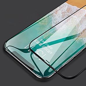 Недорогие Защитные пленки для iPhone XR-3d горячий гнуть полный клей 9h закаленное стекло-экран протектор для iphone XR