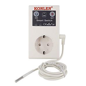 16a gsm stikkontakt fjernkontroll strømbryter temperatursensor smarthjem relékontroll sms app garasjeportåpner