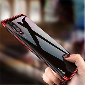 povoljno Maske/futrole za Huawei-futrola za huawei mate 30 / mate 30 pro / mate 20 pro / mate 20 / mate 20 lite / p smart plus 2019 / p smart 2019 / p30 / p20 / p10 oplata / ultra tanka / prozirna stražnja navlaka u punoj boji tpu