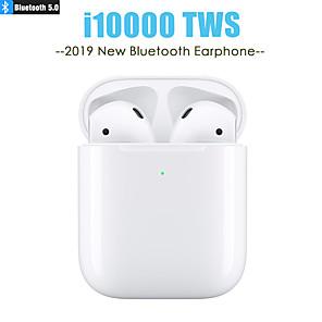 povoljno Pravi bežični uš-LITBest i10000 TWS True Bežične slušalice Bez žice EARBUD Bluetooth 5.0 Stereo S mikrofonom S kontrolom glasnoće