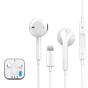 저렴한 Huawei 케이스 / 커버-LITBest M-14 유선형 이어폰 유선 모바일폰 스테레오 듀얼 드라이버 마이크 포함