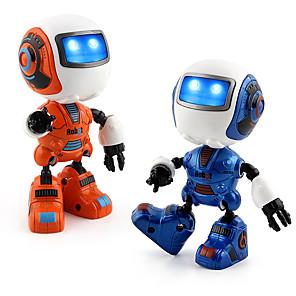 Недорогие Другие радиоуправляемые игрушки-RC-робот Внутренние и персональные роботы ABS Танцы Веселье Классика