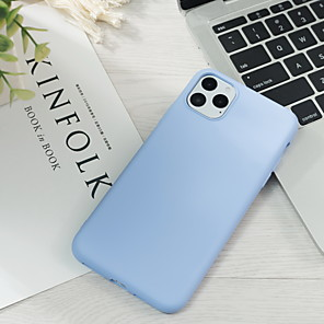"povoljno MacBook Pro 15"" maske-Θήκη Za Apple iPhone 11 / iPhone 11 Pro / iPhone 11 Pro Max Ultra tanko / Uzorak Stražnja maska Jednobojni silika gel"