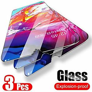 billige Etuier / deksler til Galaxy S-modellene-3stk glass for samsung galaxy a50 9h skjermbeskytter herdet glass for samsung a10 a90 a20 a80 a40 a60 a30 a70