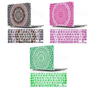 ieftine Becuri LED Glob-copertina tastaturii mac& carcasă Macbook stil boem / plastic cu flori pentru noi macbook pro 15 inch / macbook pro new 13 inch / new macbook air 13 2018