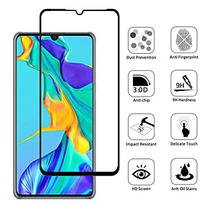 cheap Huawei Screen Protectors-9H HD Tempered Film for Huawei P20 P30 Pro Lite P20 Plus Mate 30 20 Pro 9D Screen Protector