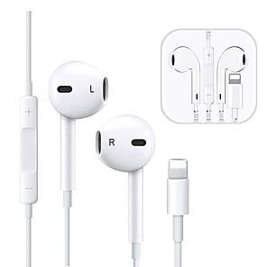 ieftine Aurii cu fir cu fir-Căști cu fir pentru iluminare căști bluetooth in-ear pentru smart iPhone 7 8 căști x x 11 11 pro max cască cu microfon