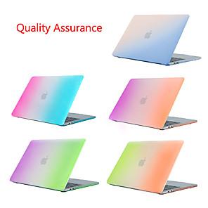 """povoljno MacBook Pro 13"""" maske-kućište s zamrznutim gradijentom duge za jabuku macbook air pro retina air pro 15 13 12 11 zaštitni poklopac prijenosnog računala mac book 13,3 15,5"""