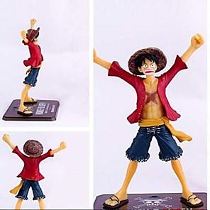 ieftine Cosplay Anime-Anime de acțiune Figurile Inspirat de One Piece Monkey D. Luffy CM Model de Jucarii păpușă de jucărie Bărbați Băieți Fete Clasic Distracție / figura