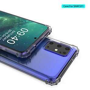 povoljno Zaštitne folije za Samsung-futrola za samsung galaxy s11 plus a51 m30 otporna na udarce prozirni tpu s11e s11 s10 plus s10e s10 a71 a10s a20s a30s a40 a50s a60 m10 m20 m40 s9 plus s9 s8 plus s8 note 10 plus napomena 10 napomena