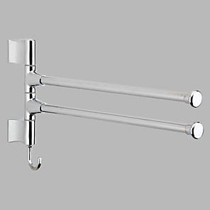 ieftine Gadget Baie-Prosop Baie Model nou / Cool Contemporan Oțel inoxidabil / Fier 1 buc Dublu Montaj Perete
