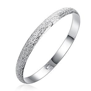 ieftine Cercei-Bărbați Brățări Bantă Geometric Floare Modă Aliaj Bijuterii brățară Argintiu Pentru Zilnic Muncă