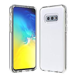povoljno Zaštitne folije za Samsung-Θήκη Za Samsung Galaxy Galaxy S10 / Galaxy S10 Plus / Galaxy S10 Lite Prozirno Stražnja maska Jednobojni TPU