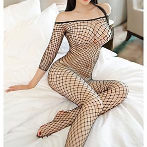 ieftine Costume Sexy-Pentru femei Cincizeci de umbre Uniforme sexy Sex Costume Cosplay Costume sexy Leotard / Onesie Tanga