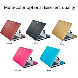 abordables Lampes de Poche-MacBook Etuis / Manche Couleur Pleine faux cuir pour MacBook Air 11 pouces / MacBook Pro 13 pouces