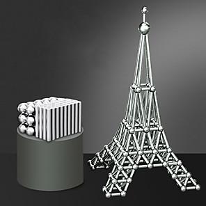 ieftine Jucării cu Magnet-63 pcs 8mm Jucării Magnet bile magnetice Magnetice magnetice Lego Super Strong pământuri rare magneți Magnet Neodymium Pentru copii / Adulți Băieți Fete Jucarii Cadou