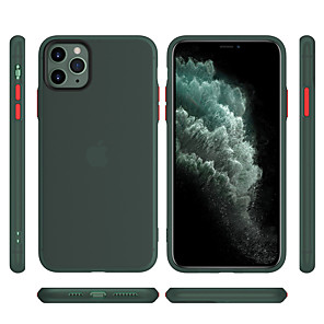 billiga Apple-fodral Till Apple iPhone 11 / iPhone 11 Pro / iPhone 11 Pro Max Frostat Skal Enfärgad Gummi