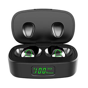 ieftine Câini Gulere, hamuri și Curelușe-Căști t10 adevărate wireless Bluetooth 5.0 cască sport cu cască dublă hifi bluetooth