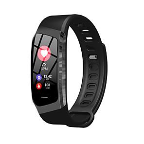 hesapli Küpeler-Kadın's Dijital saat Günlük Moda Siyah Pembe Silikon Dijital Altın+Siyah Siyah Havuz Su Resisdansı Bluetooth Smart 1set Dijital