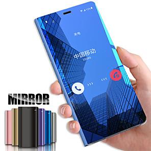 Недорогие Чехлы и кейсы для Galaxy S6 Edge-умный кожаный зеркало флип чехол для samsung galaxy s7edge s8 s9 s10 plus note 10 plus s10e not 9 чехол для телефона чехол для galaxy s 10plus s 10 pro